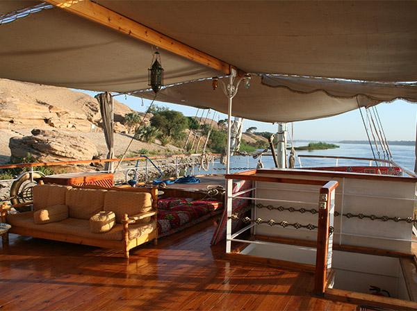 Princess Donia- Dahabeeyah Cruise comfortable accommodation