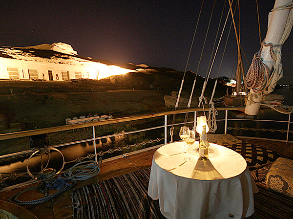 Dinner on the Princess Donia River Nile Cruise